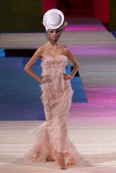 Christian Lacroix Spring 2002 Couture Fashion Show - Christian Lacroix, Jeisa Chiminazzo
