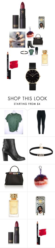 """""""Untitled #3915"""" by fashionicon67 ❤ liked on Polyvore featuring rag & bone, Fendi, Tory Burch, Lipstick Queen, NYX and CLUSE"""