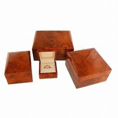 Exquisite Wooden Lacquered Box Set, Logo Laser Engraving, Available in Noble Color