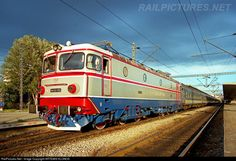 High quality photograph of CFR Romanian Railways CFR, 060 # 056 at Thessaloniki, Greece. Thessaloniki, Train Tracks, Artemis, Locomotive, Locs, Transportation, Greece, Automobile, Urban