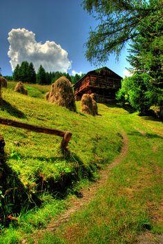 ~Paesaggio in Comelico, Belluno~Italia