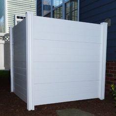 Premium Vinyl Outdoor Privacy Screens-Set of 2 Vinyl Fence Panels, Garden Fence Panels, Outdoor Shower Kits, Outdoor Showers, Outdoor Shower Enclosure, Privacy Screen Outdoor, Privacy Screens, Pool Equipment Enclosure, Pool Equipment Cover