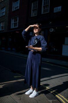 London Fashion Week Street Style Photos Spring 2016 | WWD