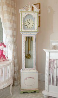 Art For Kids   Nursery Clock