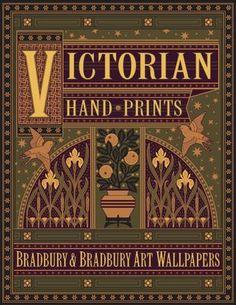 Bradbury & Bradbury Victorian Hand-Prints Wallpaper Catalog #bradburywallpaper