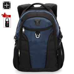 Suissewin Laptop Travel Backpack Men School Backpack Women Swiss Gear  Business Bagpack Sac a dos Bookbag SN9213-in Backpacks from Luggage   Bags  on ... 69e3a20d99c2e
