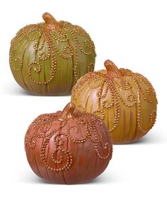 Small Scroll Pumpkin Set