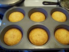 Delicious sweet corn bread - first recipe I've tried that actually tastes like the stuff I've had at restaurants.  Yummm.