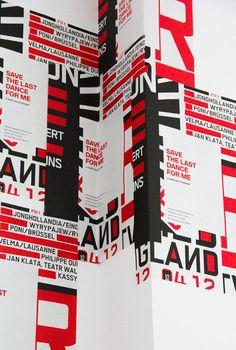 Save the last dance for me - 9 Jahre HAU 123 Design | Slanted - Typo Weblog und Magazin