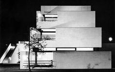 Klöcker House, Rodenkirchen, Germany, 1965-67 (Joachim Schürmann)
