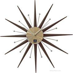 Retro Sunburst clock from Retro Planet