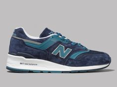New Balance M997CEF Made in the UK (Blue / Aqua)