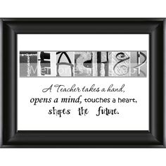 teacher gift...personalized?