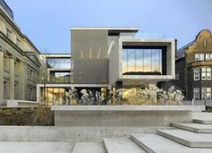 Completed in 2006 in Toronto, Canada. Images by Tom Arban, Eduard Hueber, Shai Gil / Insite Photography. The Gardiner Museum is one of the world's preeminent institutions devoted to ceramic art, and the only museum of its kind in Canada. Museum Architecture, Interior Architecture, Royal Ontario Museum, Interior Exterior, Interior Design, Ceramic Art, Ceramics, House Styles, Projects