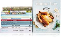 Complete Donna Hay Cookbook Library