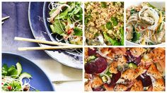 Salads don't have to be boring as the choices on this list demonstrate. Whether you just want a lighter option for dinner or are fed up of