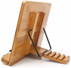 Wooden Book Stand, Wooden Books, Cook Book Stand, Book Stands, Display Stands, Tv Stands, Tablet Holder, Tablet Stand, Laptop Stand