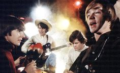 Flashback: The Monkees Play Psychedelic 'Listen to the Band' Peter Tork, Brunch, Hey Jude, Davy Jones, The Monkees, Political News, Classic Rock, Rock N Roll, Psychedelic