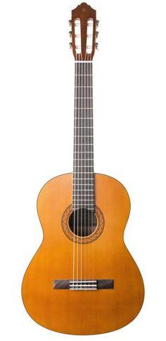 Yamaha Full Size Classical Guitar with 6 Nylon Strings – Thin gloss finish – Natural Yamaha Bass Guitar, Yamaha Acoustic Guitar, Yamaha Guitars, Bass Guitars, Cheap Guitars, Guitars For Sale, Guitar Pedals, Guitar Strings, Music Guitar