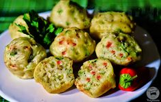 Muffin Salgado ~ Savory Vegetable Muffins