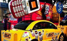 La Caravane du Tour de France 2012 : de la route à Facebook - Orange le collectif