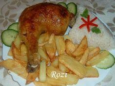 Rozi erdélyi,székely konyhája: Töltött csirkecomb Poultry, Favorite Recipes, Meals, Chicken, Food, Backyard Chickens, Meal, Essen, Yemek