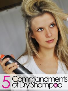 Dry shampoo is amazing! ...but only if you know the right way to use it.
