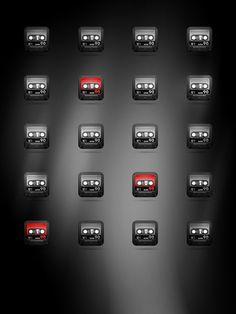 Cassette, casete, caset mini iPad