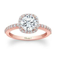 Rose Gold engagement ring #engagementring #diamonds #diamondrings Make your dream ring into a reality! Contact The Diamond Shopper today. Email: info@thediamondshopper.ca