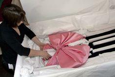 Yves Saint Laurent: Unpacking & Installing 200 Haute Couture Ensembles