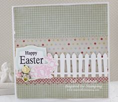Inspired by Stamping, Fancy Labels 3 stamp set, Easter stamp set, Easter card