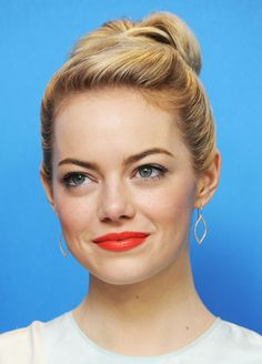 Emma Stone has proven time and time again that she'd go to great lengths for a movie role by switching her hair. The Oscar-nominated actre ditched her natural blonde locks for her first feature film...