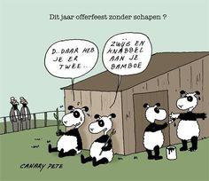 Panda's en het offerfeest