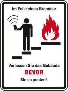 Dieses Schild sollte eingeführt werden!
