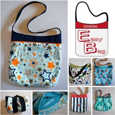 Schnabelina Easybag free pattern and tutorial (in German)