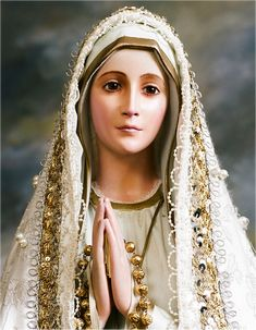 Our Lady of Fatima-so real,alive like. Beautiful'
