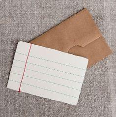 sewn paper