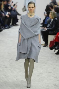 Celine Winter 2013...draped luxurious wool