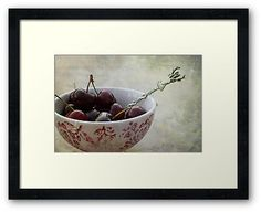 « Cherries for the deer » by Thierry Wojtczak. Available for sale at http://www.redbubble.com/people/thierrywojtczak/shop