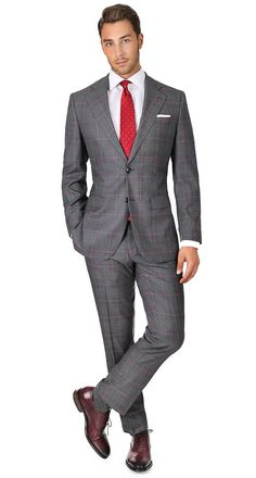 Are finding business casual outfits causing you to tear your hair out in the morning? Suit Fashion, Mens Fashion, Best Business Casual Outfits, Plaid Suit, Herren Outfit, Men Formal, Suit And Tie, Look Chic, Wedding Suits