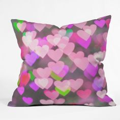 Lisa Argyropoulos Sea Of Love Throw Pillow | DENY Designs Home Accessories