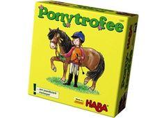 gezellig memospel 'ponytrofee' Haba | kinderen-shop Kleine Zebra