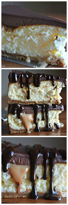 Love Twix Candy Bars? Then this is the cheesecake for you! It starts with the best cheesecake recipe, like ever! It has a crunchy graham…