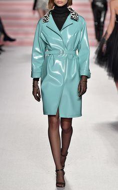 Philosophy Di Lorenzo Serafini  Eco-Leather Rain Coat