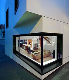 Architecture, Cool Modern Window Design In Large Decor Used Glass Material: Architect Home Designs for Modern Family