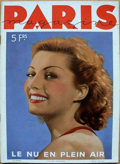 Paris Magazine, 1936. [Pinned 15-xi-2016]