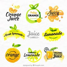 New Fruit Bar Logo Packaging Design 48 Ideas Fruit Logo, Fruit Packaging, Food Packaging Design, Packaging Ideas, New Fruit, Fruit Juice, Juice Smoothie, Summer Fruit, Juice Bar Design
