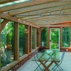 Pergola For Small Patio Curved Pergola, Pergola Patio, Backyard Patio, Gazebo, Pergola Kits, Screened Porch Designs, Screened In Porch, Garden Room Extensions, House Extensions