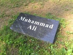 He is generally considered to be the greatest heavyweight boxer in the history of the sport. Famous Tombstones, Jan 17, Grave Markers, Famous Graves, Cemetery Art, Grave Memorials, Muhammad Ali, In Loving Memory, Jun