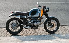 BMW R100RS Scrambler by Ottodrom | www.caferacerpasion.com